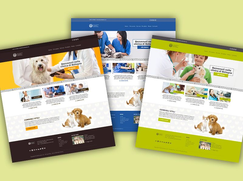 Sito Webbag Template Clinica Veterinaria 01