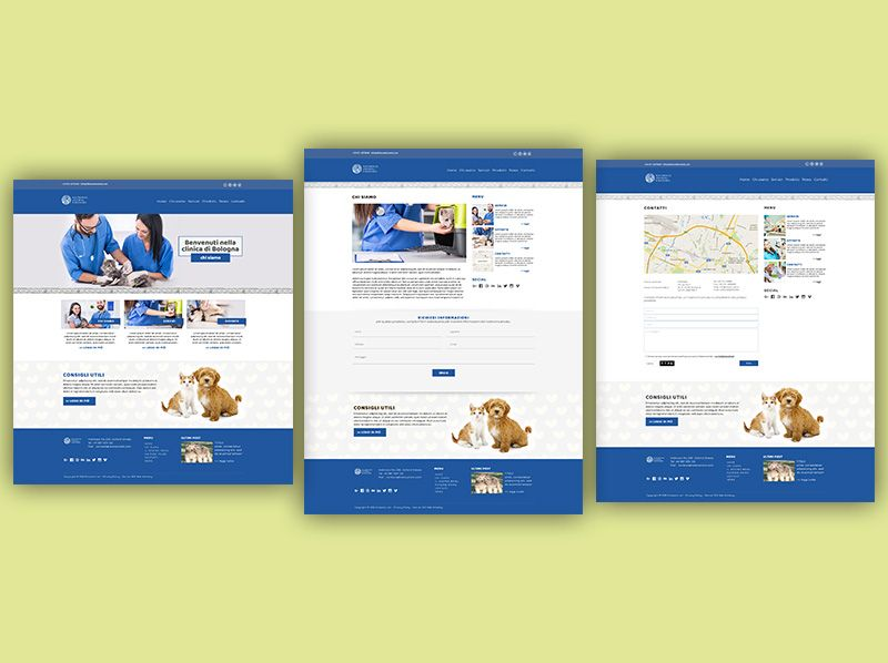 Sito Webbag Template Clinica Veterinaria 03