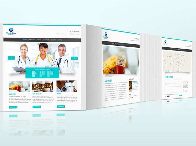 Sito Webbag Template Medicale 01