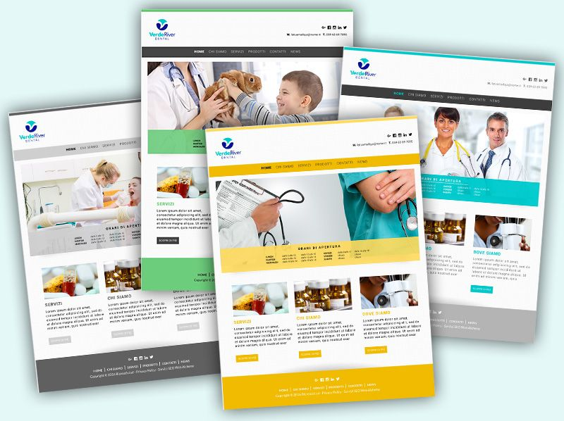 Sito Webbag Template Medicale 02
