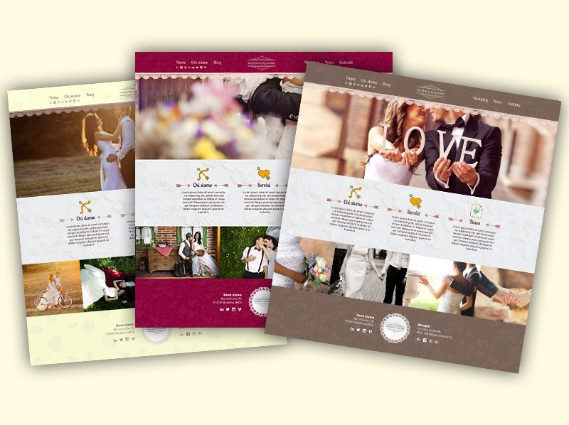 Sito Webbag Template Wedding Planner 01