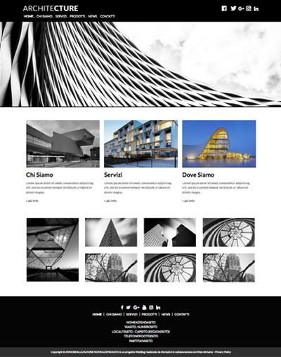 Tema: Architetti